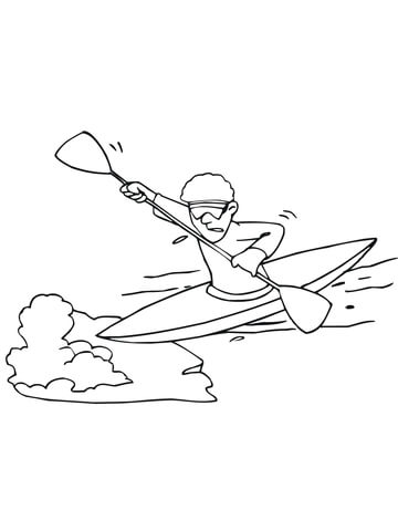 man-paddling-on-kayak-coloring-page